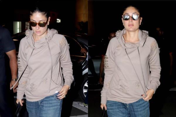 kareena kapoor khan spotted at mumbai airport