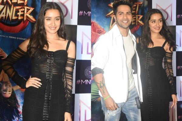 varun dhawan shraddha kapoor attend wrap up party of streat dancer 3d