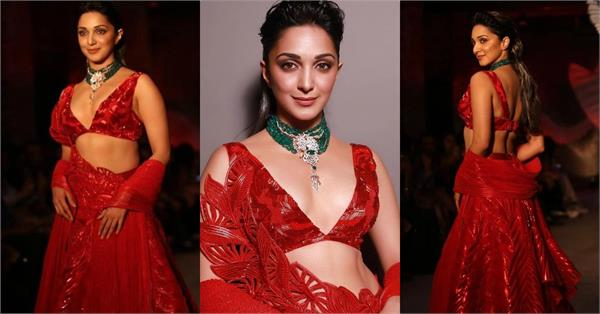 kabir singh actress kiara advani walks on ramp
