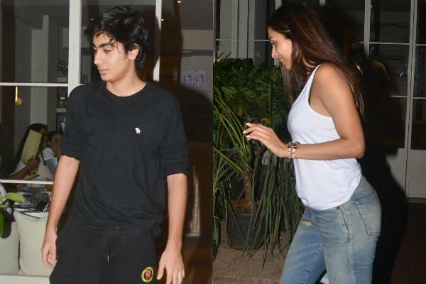 malaika arora spotted at dinner date with son arhaan khan
