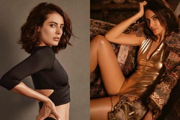 bigg boss contestant mandana karimi bold look in latest photoshoot