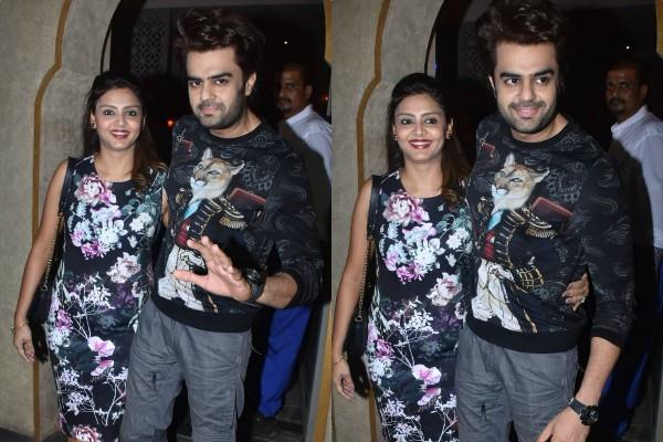 manish paul romantic dinner date with wife sanyukta paul