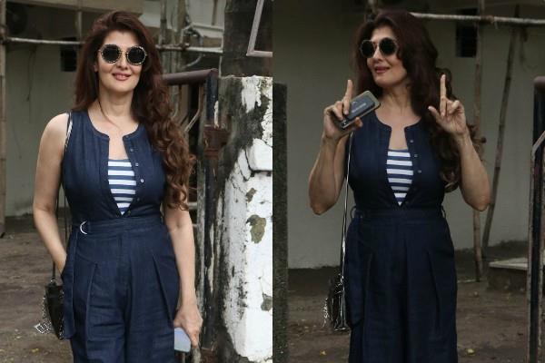 salman khan ex girlfriend sangeeta bijlani snapped post salon session