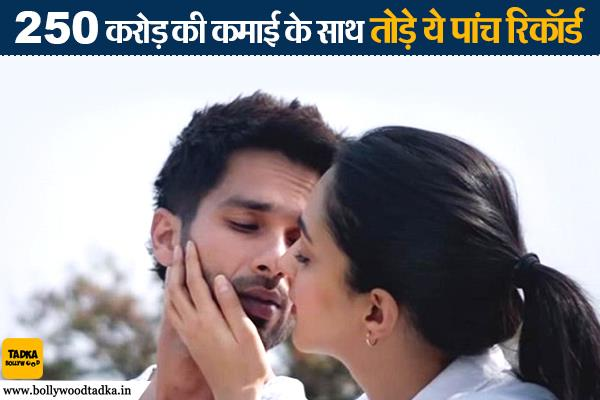 adult film kabir singh has broken five records and earns 250 crore