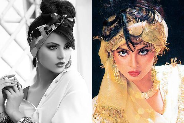 urvashi rautela look like actress rekha in latest monochrome photoshoot