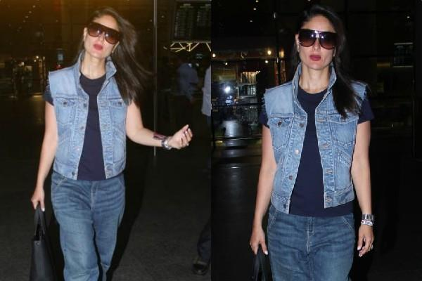 kareena kapoor khan spotted at airport
