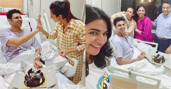 divyanka tripathi vivek dahiya celebrate their wedding anniversary in hospital