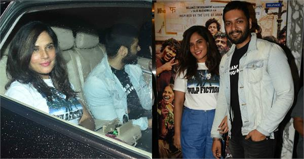 richa chadda attend hrithik roshan super 30 screening with boyfriend ali fazal