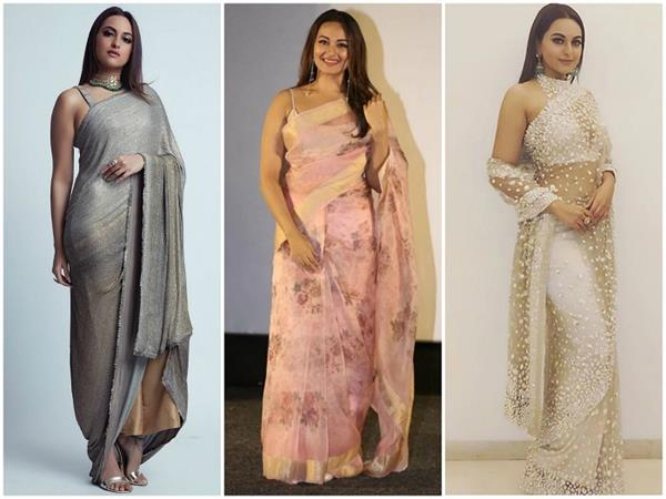 sonakshi sinha s 10 saree look