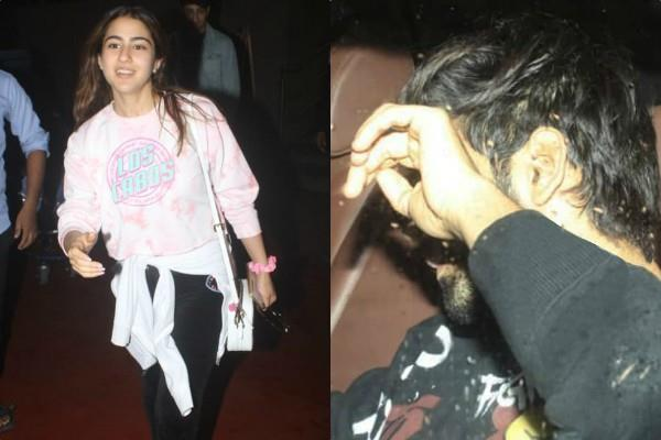 sara ali khan return from holidays kartik aaryan came to receive