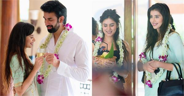 rajeev sen charu asopa wedding unseen pictures