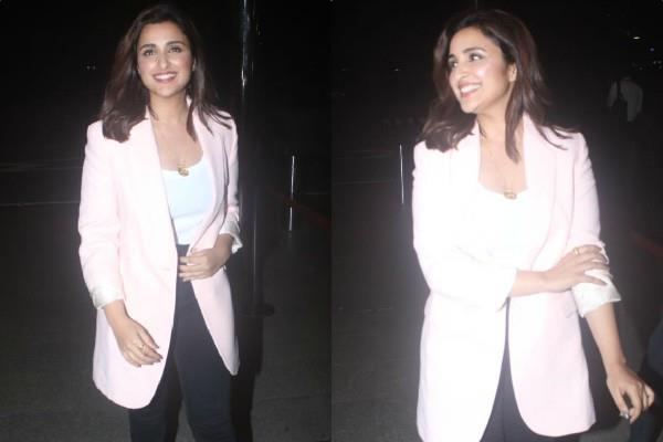 parineeti chopra spotted at airport