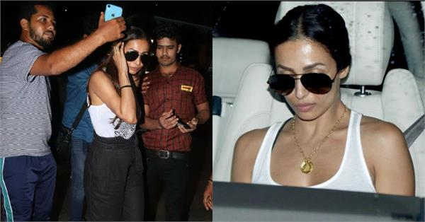 malaika arora return to mumbai after her maldives vacation