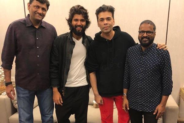 karan johar buy vijay devarakonda movie dear comrade rights