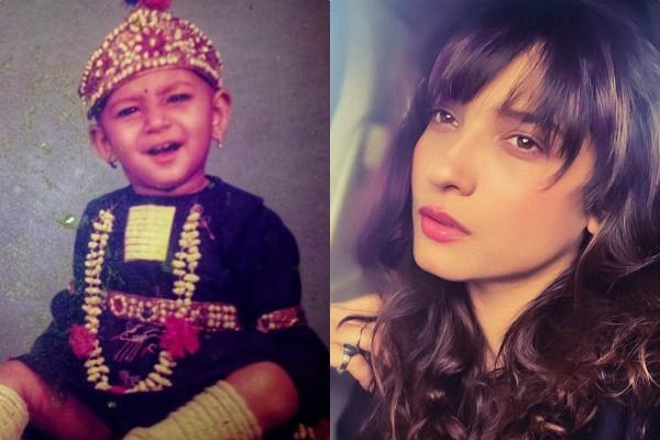 ankita lokhande share her cute childhood photos