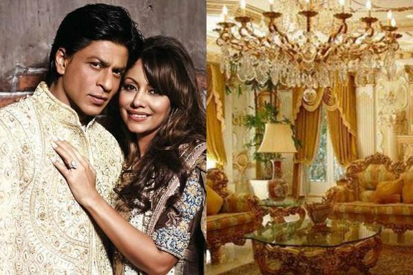 shah rukh khan expensive bungalow mannat inside pictures