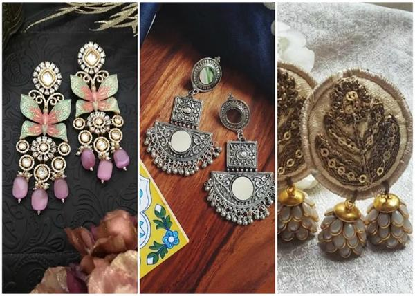 best stores on instagram for earring shopping for mehendi