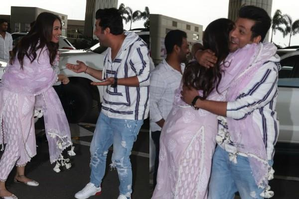 sonakshi sinha and varun sharma snapped