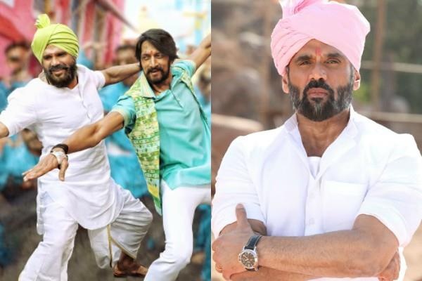 suniel shetty upcoming film pailwaan song first look out