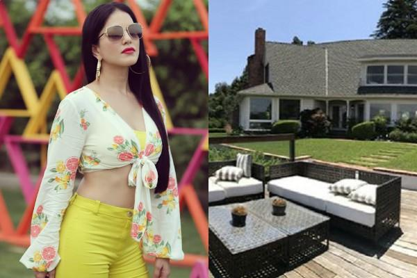 sunny leone luxurious bungalow pictures