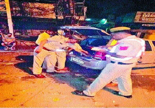 7 accused arrested during night domination