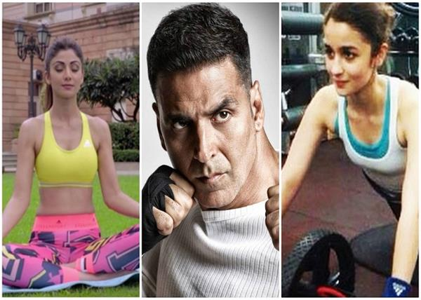 take these 5 celebrities with tips to keep yourself fit and fitted