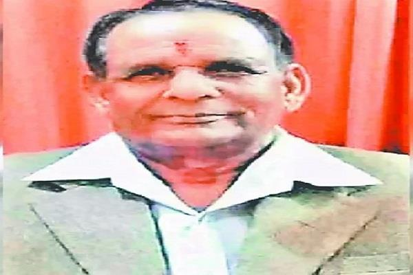 congress leader died due to heart attack
