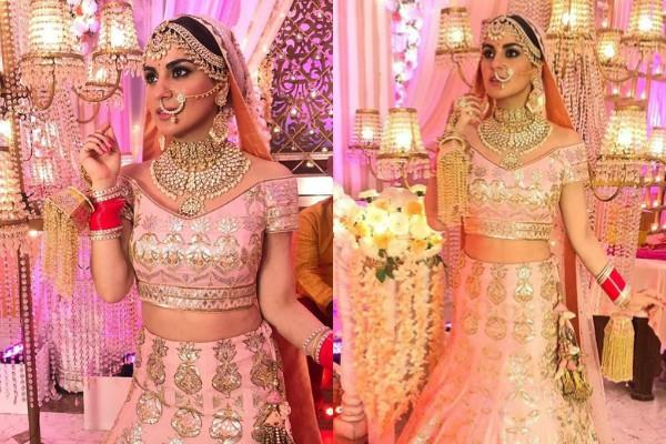 shraddha arya bridal look photoshoot