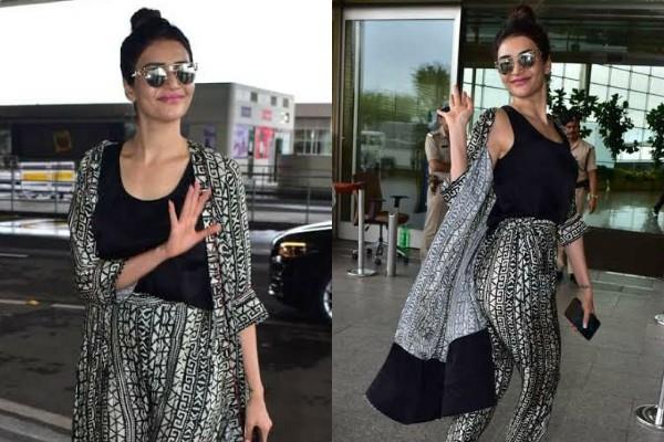 एयरपोर्ट पर करिश्मा तन्ना का कहर, बेपरवाह होकर दिखाया फिगर