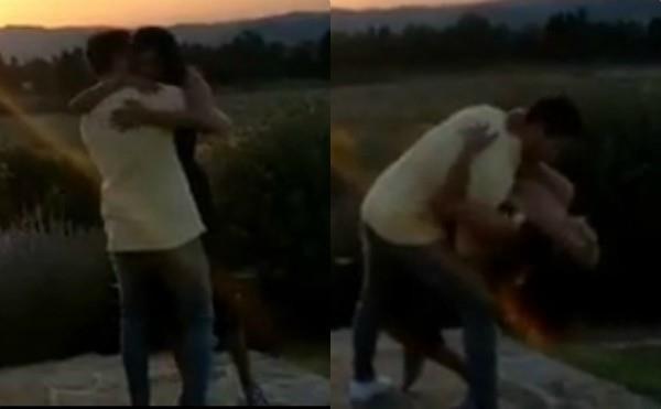 ढलते सूरज के सामने पति निक की बाहों में खोईं प्रियंका, वीडियो में दिखा रोमांटिक अंदाज