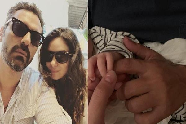 arjun rampal shares photo with baby boy and reveals his name