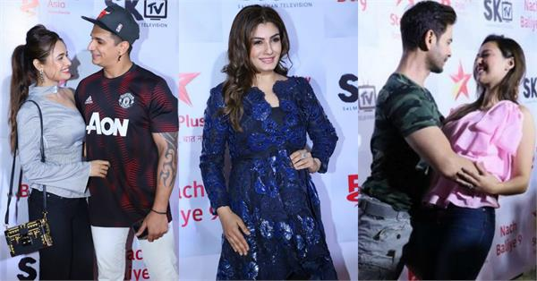 raveena tandon and others celebs attend success bash nach baliye 9