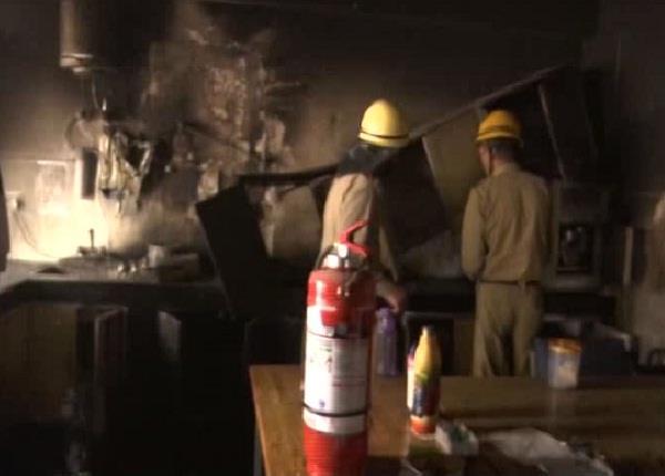 sudden fire in igmc