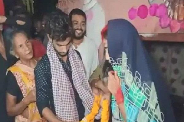 marriage of couple in nalanda