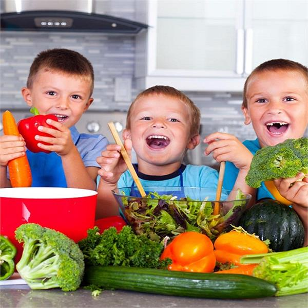 balance diet for growing kids