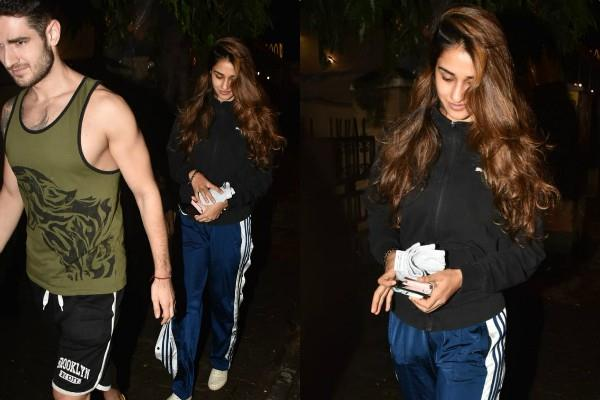 disha patani spotted with mytery man