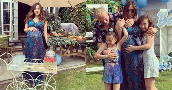 myleene klass baby shower