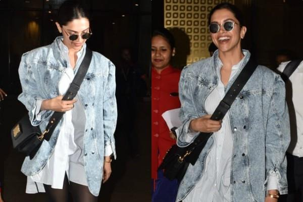 deepika padukone returned from london