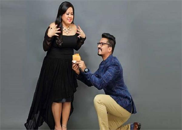 bharti singh gets rolex watch gift by husband harsh limbachiyaa on birthday