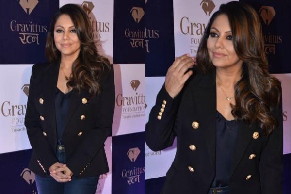 gauri khan at book launch event of gravittus ratna