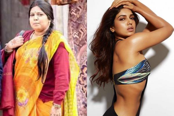 bhumi pednekar fat 2 fit look