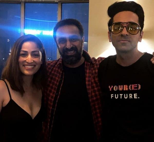 ayushmann khurrana movie bala wraps party