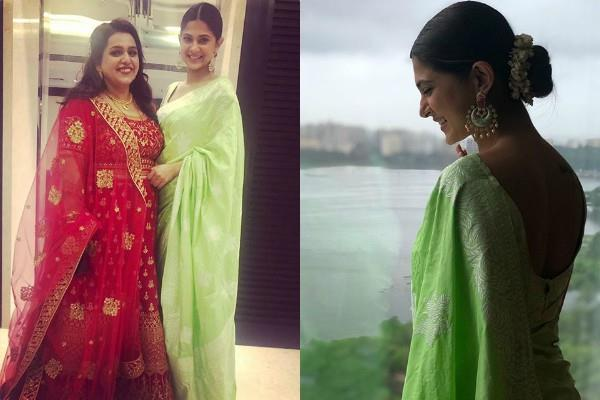 jennifer winget attends childhood friend wedding