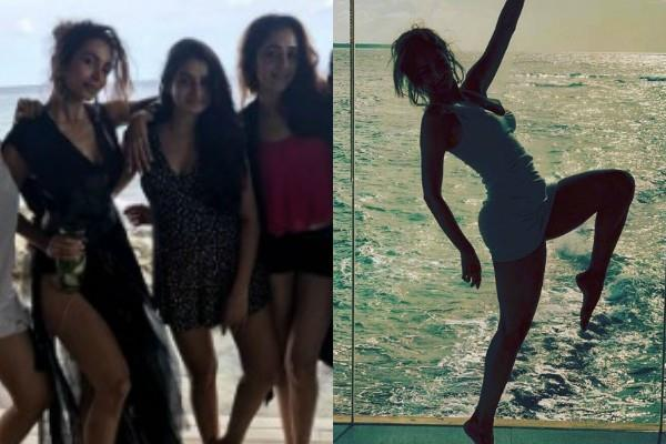 malaika arora enjoy holidays in maldives with girl gang