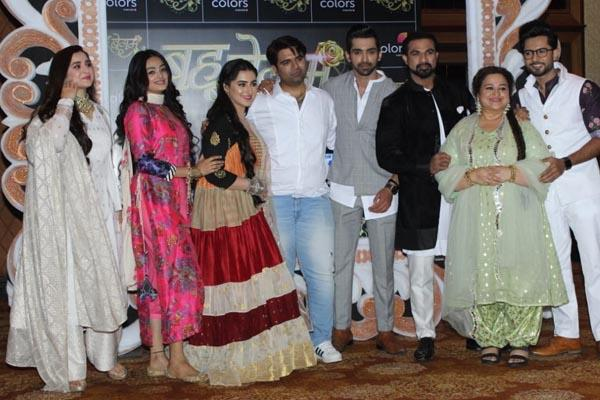 arjit taneja sameeksha jaiswal diana attend bahu begum press meet