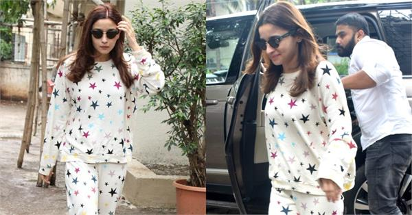 alia bhatt spotted at salon in juhu