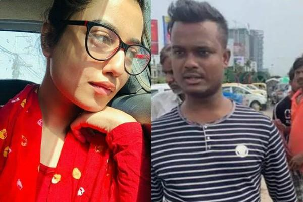 driver abused to bengali actress swastika dutta