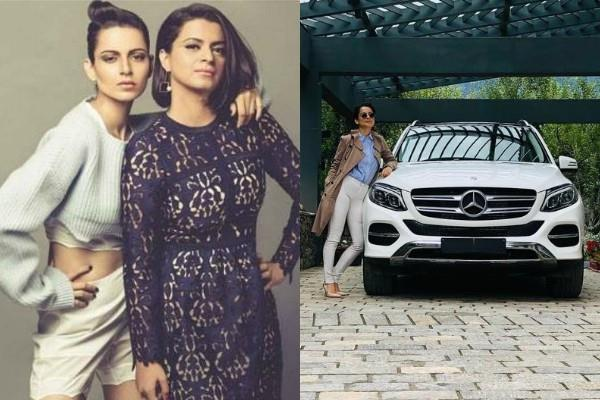 kangana ranaut buy mercedes benz car