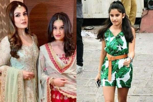 raveena tandon daughter rasha tandon pictures