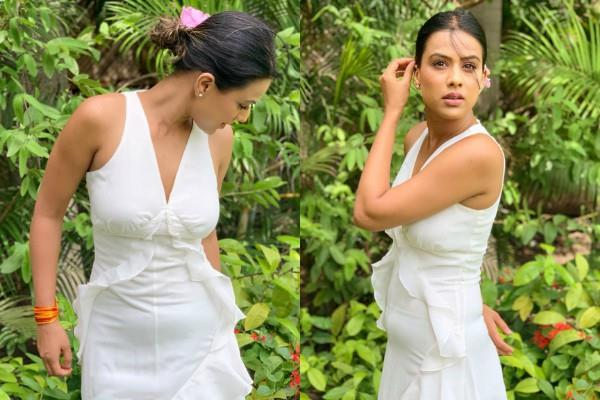 nia sharma gets trolled in white dress